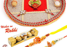 Buy impeccable styles in rakhi from online stores