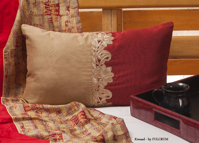 red brown Pillow covers