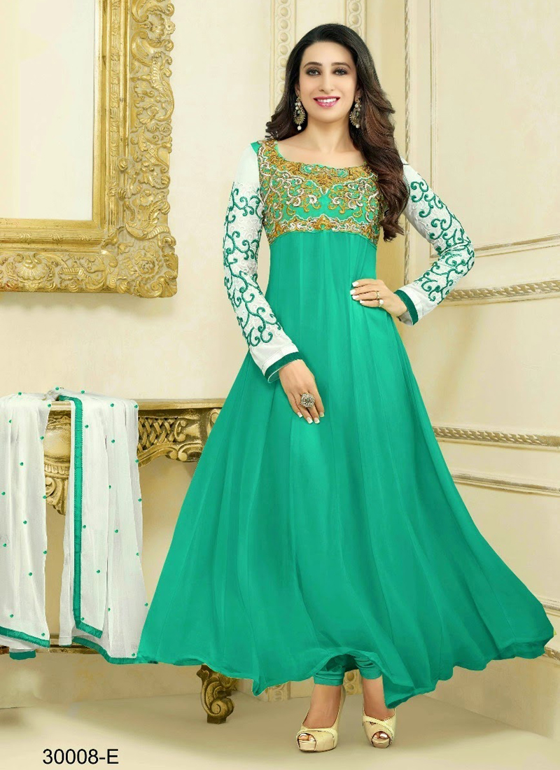 40 Off On Multicolored Semi Stitched Salwar Suits Of