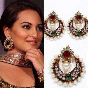 bollywood replica earrings
