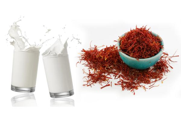 saffron-milk