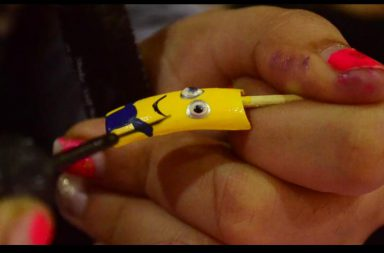 Minion-nail-art-design