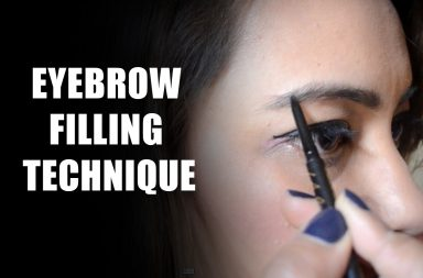 Eyebrow-filling-tutorial