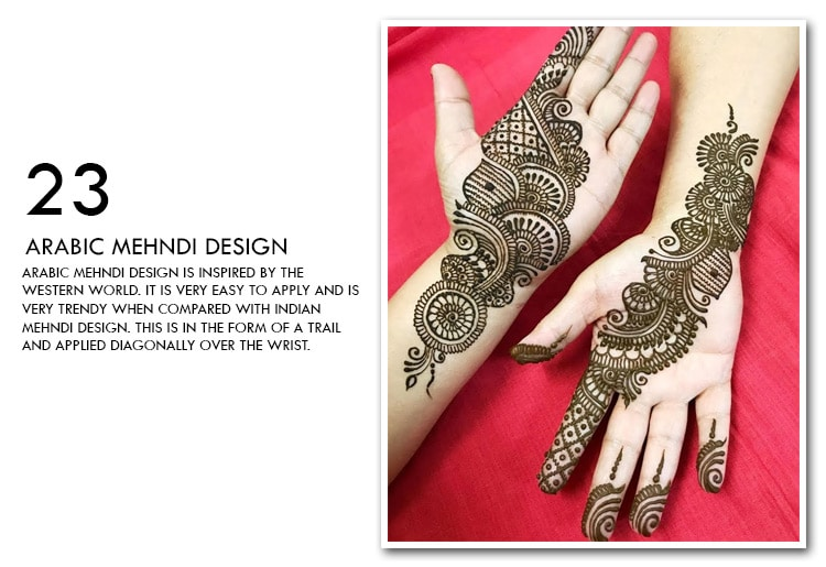 2019 Top 99 Simple Mehndi Designs That Will Enhance Your Look