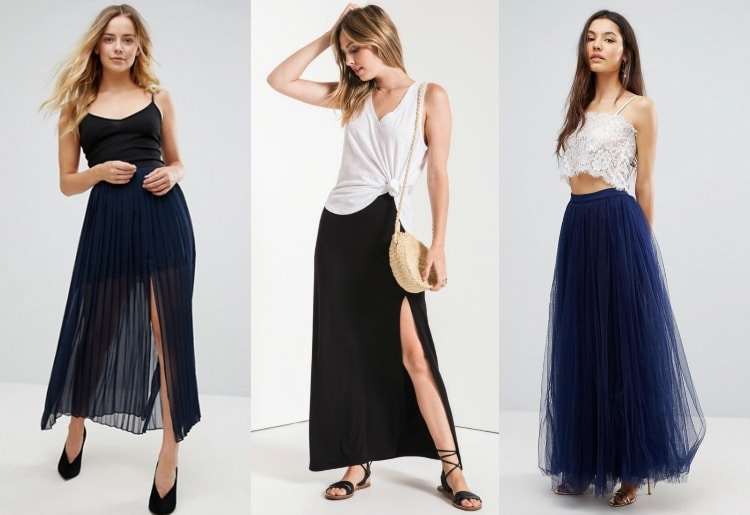 5d2f2c1715f How To Wear A Maxi Skirt - 15 Different Outfit Ideas