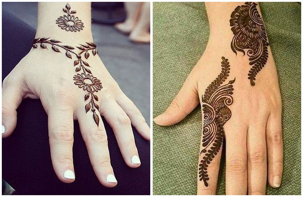 30 Easy And Simple Mehendi Designs For Kids,Normal Bedroom Designs Indian Style